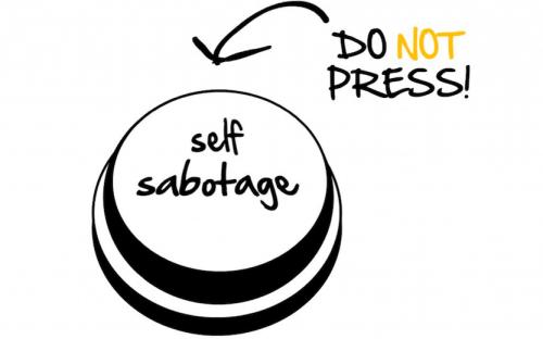 Break free self sabotaging behaviors